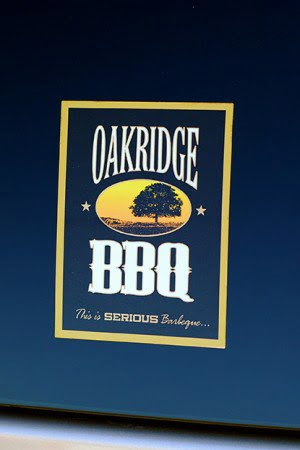 Oakridge BBQ Vynl Decal