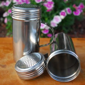 Stainless Steel Rub Shaker