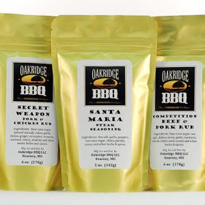 Oakridge BBQ Products Sampler Pack