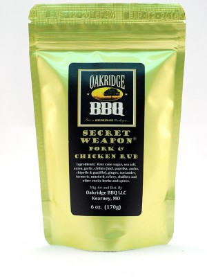 oakridge bbq secret weapon pork chicken rub