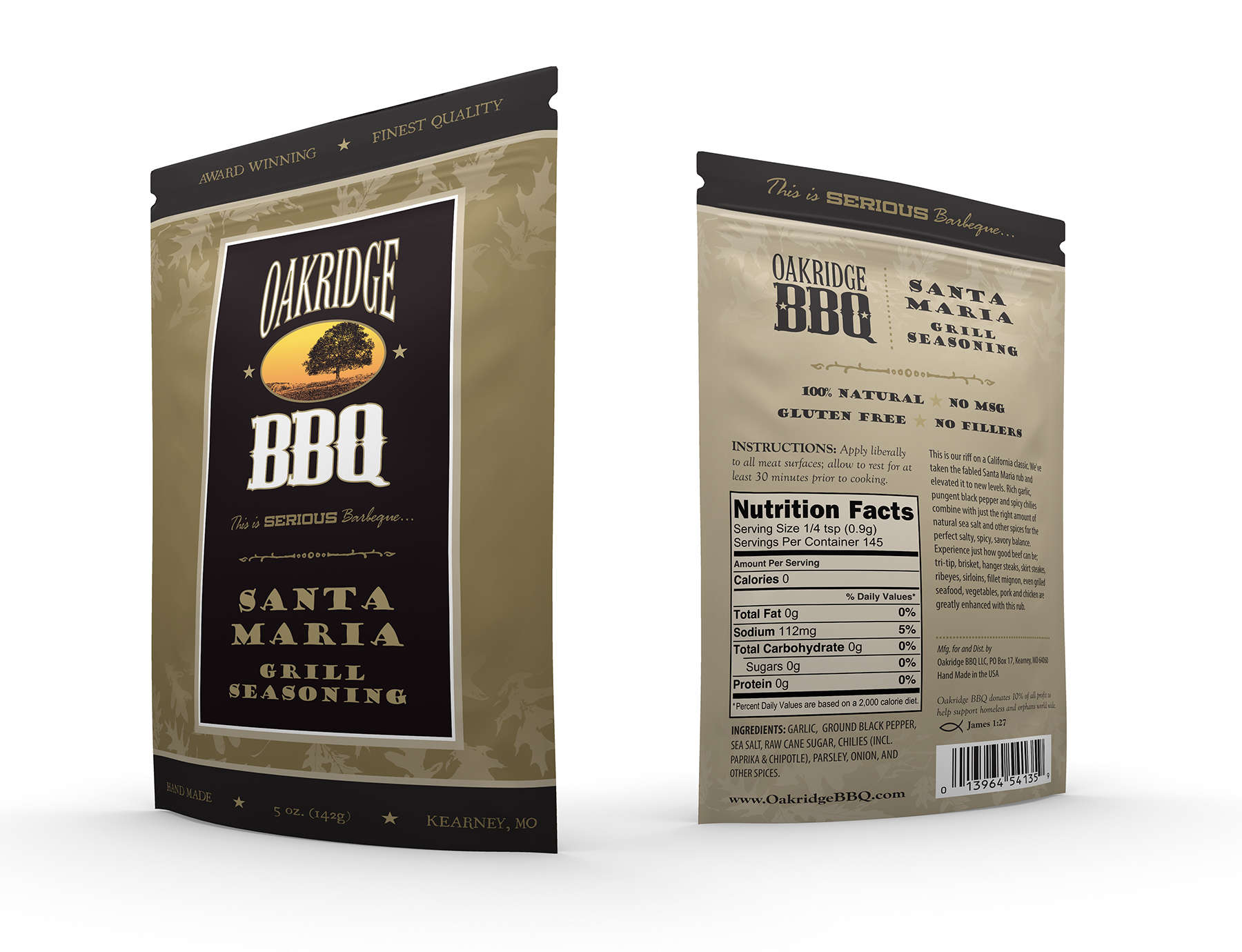 2015 Oakridge BBQ New Package Design Sneak Peak