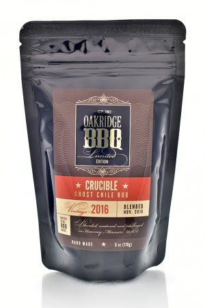 Oakridge BBQ 2016 Crucible Ghost Chile Rub 6 oz