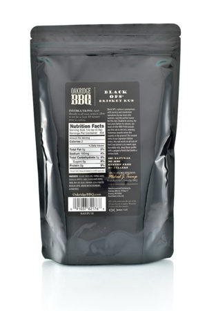 Oakridge BBQ Black Ops Brisket Rub