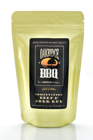 Oakridge BBQ Competition Beef & Pork Rub