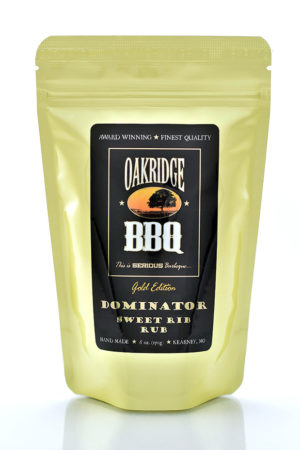 Oakridge BBQ Dominator Sweet Rib Rub