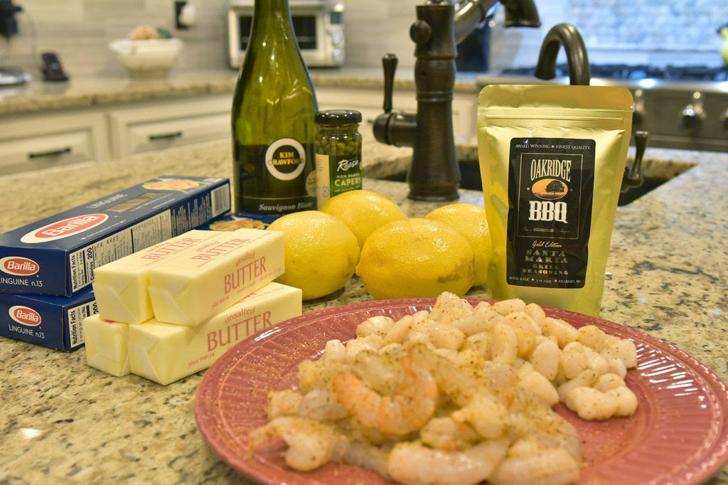 garlic lemon seafood pasta