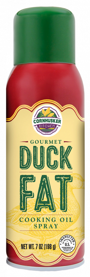 duck fat spray can