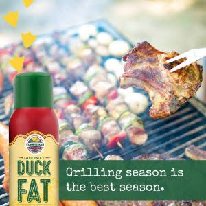 duck fat spray can grilling smoking meat bbq