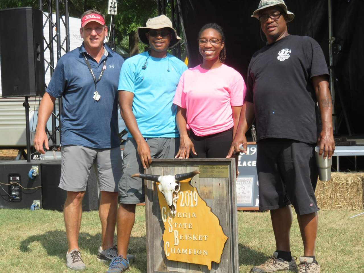 Georgia State Brisket Champion Oakridge BBQ Black Ops