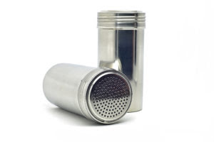 oakridge bbq stainless steel rub shaker without handle