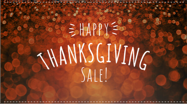 Our Pre-Thanksgiving Sale is Here!