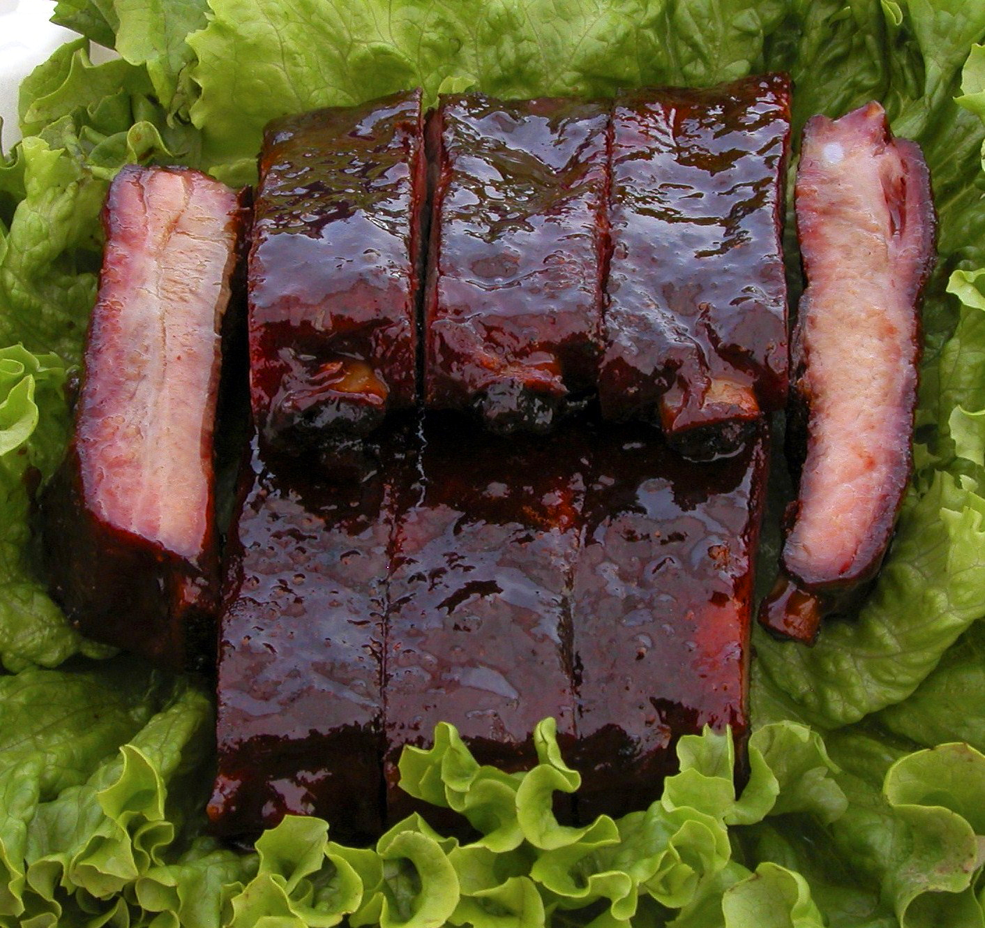How to Trim Competition St. Louis Spare Ribs — Oakridge ...